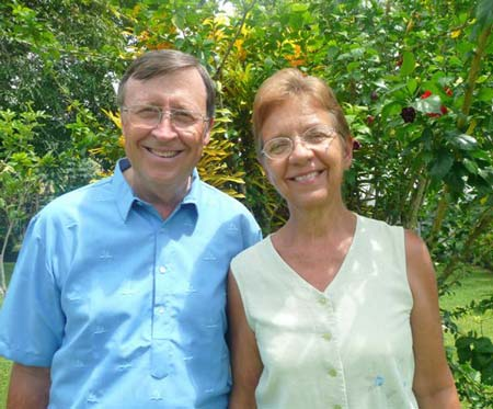 Bob and Jan Roberts [photo courtesty of Adventist Mission]